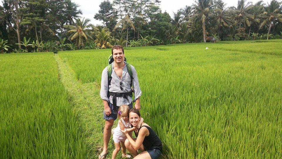 Rice Padi Trecking